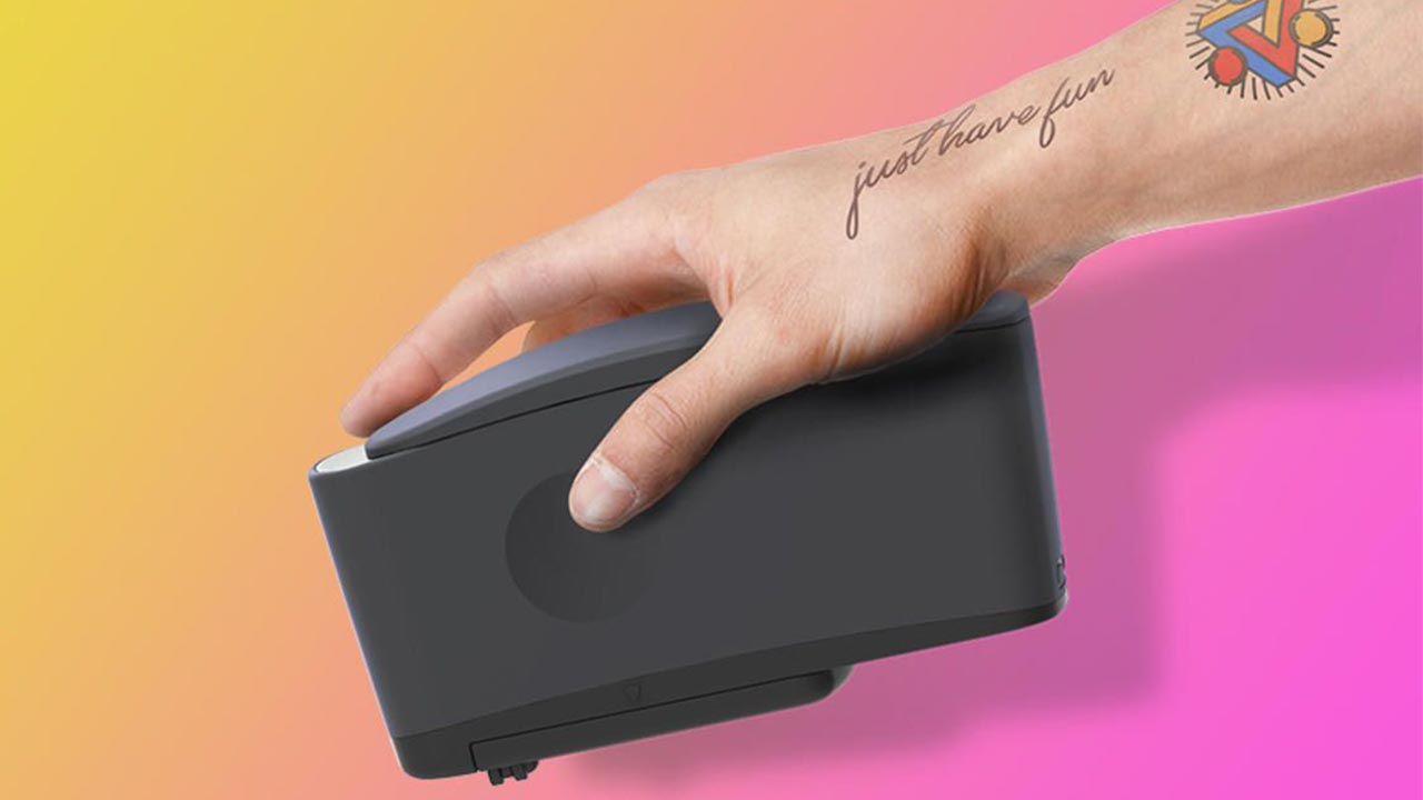 Imprimante tatouages éphémères location sur Vaud, Valais, Genève, Fribourg et dans toute la Suisse
