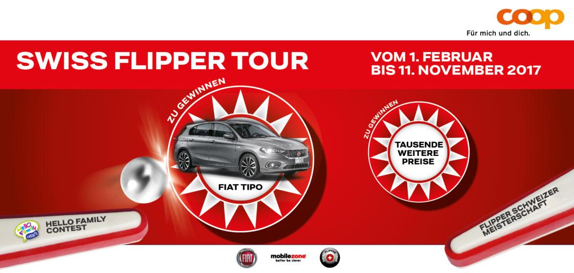 Bannière Swiss Flipper Tour 2017