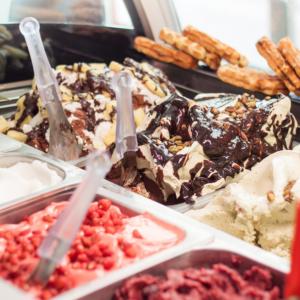 suggestion de présentation pour votre stand de glaces