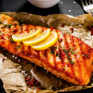 suggestion de présentation pour vos grillades de poisson