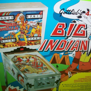 Flipper vintage à louer - Big Indian