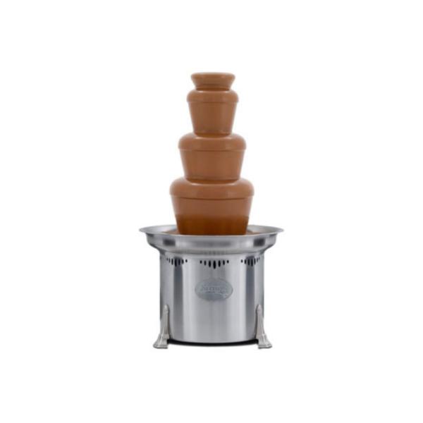 Fontaine à chocolat avec chocolat