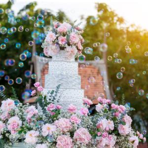 Machine à bulles pour ton mariage